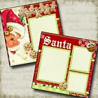 COOKIES for SANTA Premade Scrapbook Pages EZ Layout 641