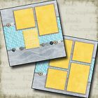 YOU ARE MY SUNSHINE 2 Premade Scrapbook Pages EZ Layout 2103