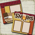 SMORES 2 Premade Scrapbook Pages EZ Layout 2179