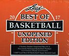 2017 Leaf Best Of Basketball Unopened Edition Factory Sealed Hobby Box