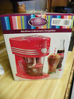 Nostalgia Electric Coca Cola Counter Top Frozen Beverage Station NIB