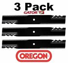 3 Pack Oregon 396 748 G6 Gator Mulch Blade For Kubota K5617 34330 54 ZG2354 54