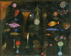 Fish Magic by Paul Klee Giclee Canvas Print Repro