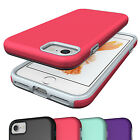 NEW Shockproof Armor Rubber Hard Back Cover Case For Apple iPhone 8 7 Plus 6 6S