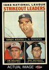 Top 10 Sandy Koufax Baseball Cards 12