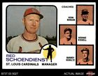 Top 10 Red Schoendienst Baseball Cards 12