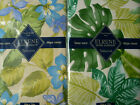 Assorted Styles Sizes Vinyl Flannel Backed Tropical Tablecloths by Elrene