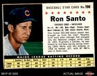 Ron Santo Cards, Rookie Card and Autographed Memorabilia Guide 7