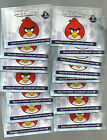 ANGRY BIRDS Sticker lot of 15 unopened PACKS New By ROVIO 120 Stickers FREE SHIP