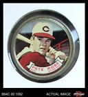 1964 Topps Coins #82 Pete Rose - Reds GOOD