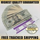100x 20 Bills Stage Fake Prop Money Stack For Film Movies TV