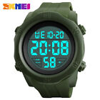SKMEI Men Military Sports Watches LED Digital Fashion Silicone Waterproof Watch