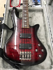 Schecter Guitar Research Stiletto Extreme-4 Bass Black Cherry With Molded Case