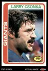 Larry Csonka Cards, Rookie Card and Autographed Memorabilia Guide 14