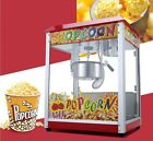 New Commercial Popcorn High Capacity Automatic Stainless Steel Popcorn Machine *