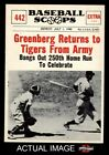 Hank Greenberg Cards, Rookie Cards and Autographed Memorabilia Guide 12