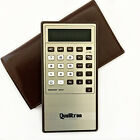 Vintage Qualitron Calculator Memory 2543 with Case Works