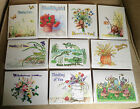 Set of 10 Thinking of You Note Cards w Envelopes