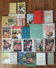 Lot of 24 Vintage Cookbooks Womans Day Better Homes Weight Watchers Good House