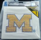 NIP Gold Michigan Wolverines Auto Bling NEW NCAA Car Decal Wholesale Lot of 99