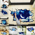 US Galaxy Planets 3D Planet Removable Wall Decal Vinyl Stickers Art Home Decor