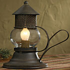 Mini Onion Lamp by Park Designs Bubble Glass with Rustic Finish