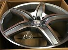 20 MERCEDES BENZ 2015 S63 AMG WHEELS S550 CL550 CL CL63 CL65 POLISHED GREY