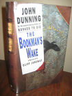 SIGNED 1st Edition BOOKMANS WAKE John Dunning MYSTERY First Printing CRIME Rare