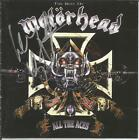 Motorhead All the Aces  /  Muggers Tapes CD  Signed by entire band  Rare