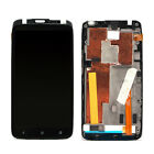 Black For HTC One X AT&T LCD Display Touch Screen Digitizer Assembly with Frame