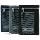 NEW Mens Boys Sports Canvas WALLET by Lorenz Teens Handy Zip in 3 Colours