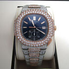 PATEK PHILIPPE Nautilus Mechanical Blue Dial Men's Watch ct.w