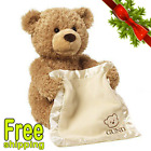 GUND Quality Brown Bear Peek a Boo Play Hide Seek Soft Stuffed Animal Plush Toys