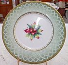 Fitz & Floyd Winter Holiday China 1999  SALAD PLATE 9 1/4