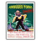 METAL SIGN WALL PLAQUE Forbidden Planet ROBBY THE ROBOT Movie Film Retro sci fi