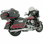 Bassani Chrome Straight Can B4 2 Into 1 Exhaust System 1995 2016 Harley Touring