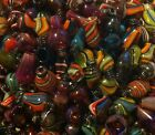 Lot of 10 Unique Handblown Glass Drip Tips all different shapes and colors