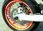 Wheel Sticker Supermoto Beta RR Motard 4T M4 LC 50 125 400 450 525 Rim Decals