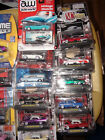 164 DieCast Collectibles Lot of 20 Cars 24K Gold Big Time Muscle Auction Block