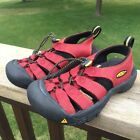 Boys Shoes KEEN Newport H2 Red Waterproof Sports Sandals