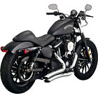 Vance  Hines Chrome Big Radius Exhaust for 2014 2017 Harley Sportster XL