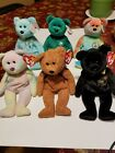 Lot Of 6 Ty Beanie Babies - ALL Bears - w/Tags! EXCELLENT