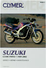 CLYMER Repair Manual for Suzuki GS500 Twins 1989-2002