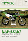 CLYMER Repair Manual for Kawasaki KX80 91-00; KX85, KX85-II 01-10; KX100 89-2009