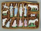 LATE 1800S EARLY 1900 GERMAN BISQUE NATIVITY FIGURES