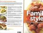 Weight Watchers Cookbook Family Style 180 Classic Recipes Health
