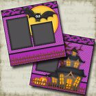 SPOOKHOUSE Premade Scrapbook Pages EZ Layout 2340