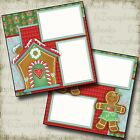 GINGERBREAD Premade Scrapbook Pages EZ Layout 2352