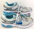 Womens Nike Air Moto 7 Size 10 Sneakers Shoes Blue Gray White Running Zoom C7