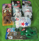 "(5) McDonald's ""TY Beanie Baby Bears"" (Includes Employee Only Bear)"